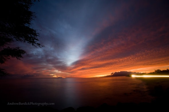 maui sunset by andrewburdickphotography.com